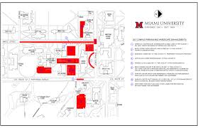 University Of Miami Parking Map by It U0027s Summer Construction Renovations And Detours Miami University