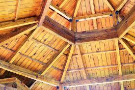 tetto padiglione tetto di legno padiglione immagine stock immagine di