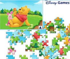 game winnie pooh jigsaw puzzles free play free games