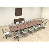 Counter Height Conference Table Amazon Com Boat Shape Counter Height 14 U0027 Feet Conference Table