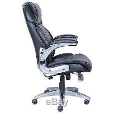 Lumbar Chair True Wellness Active Lumbar Managers Leather Office Chair Back