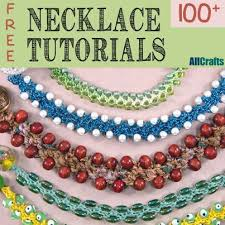 beaded crochet necklace pattern images Best 25 crochet necklace tutorial ideas crochet jpg
