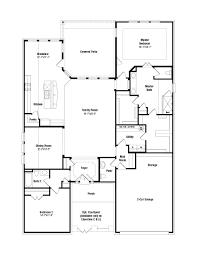 Granada Kitchen And Floor - granada floor plan at heritage at vizcaya in round rock tx