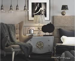 Modern Art Deco Design Bedroom House Interior Interior Design Sfdark
