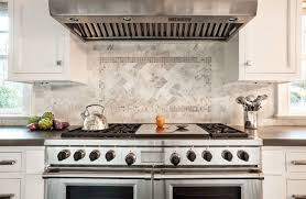 cooktop inlay tiles transitional kitchen garrison hullinger