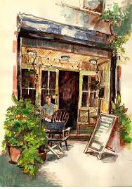 3217 best cities wc images on pinterest watercolors