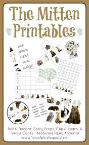 free the mitten printables the mitten printables and mittens