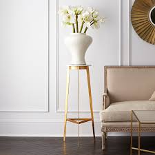 Modern Pedestal Table by Mid Century Modern Marble Pedestal Table Wisteria