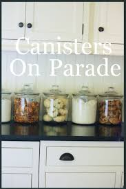 what to put in kitchen canisters lindy weaver kitchen kitchens