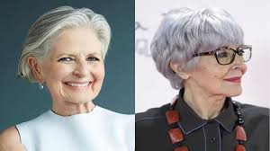 2018 2019 short and modern hairstyles for stylish older ladies over 60