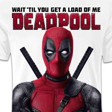 deadpool marvel movie t shirt