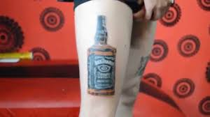 simple calf tattoos 45 wonderful jack daniels tattoos ideas