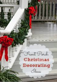 Christmas Decorations For Small Porch by Astonishing Front Porch Christmas Decorations Images Decoration