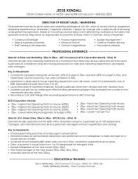 Resume Samples For Marketing Professionals by Sales And Marketing Resume Sample Sample Resumes