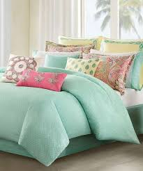 Mint Green Comforter Full Coral And Mint Green Bedding Pictures Reference Comforter Queen
