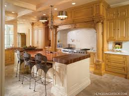 beautiful luxurious kitchen designs on house decorating concept