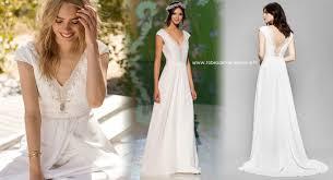 robe de mari e boheme chic robe de mariée fluide bohème chic et chêtre en crêpe et