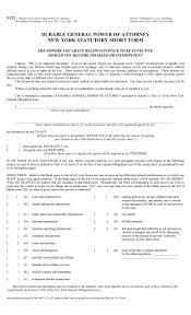 Statutory Durable Power Of Attorney by N122 â U20ac