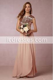 sequin top bridesmaid dresses blush pink two pieces bridesmaid dresses sequins top