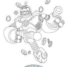 skylander giant coloring free download