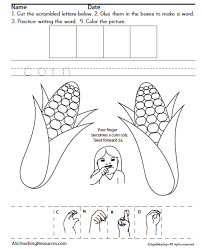 writing thanksgiving grades 1 2 asl teaching resources