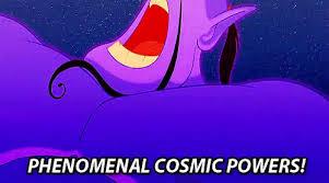 Unlimited Power Meme - phenomenal cosmic power aladdin gif power aladdin disney