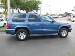 2002 dodge durango slt plus atlantic blue pearl 2002 dodge durango slt exterior photo
