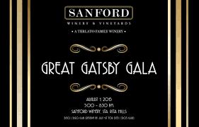 great gatsby gala tickets sanford winery lompoc ca