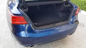 nissan maxima trunk space 2016 nissan maxima sr u2013 4dsc really we u0027re going with that
