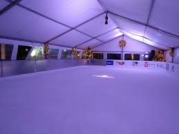yes there really is an outdoor ice skating rink in downtown miami