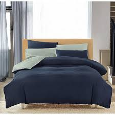 Microfiber Duvet Cover Queen Duvet Cover Set Queen Full 3pc Reversible With Brushed Microfiber