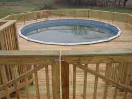 pool inspiring backyard decoration design ideas using walnut wood