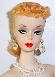number ponytail vintage barbie doll barbie doll