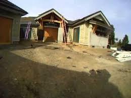 Flat Concrete Roof Tile Installing Flat Concrete Tile Roofing 8 12 Slope Youtube