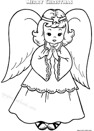 merry christmas coloring pages size printable magic color book