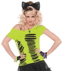 eighties halloween costumes amazon com ripped t shirt womens standard toys u0026 games
