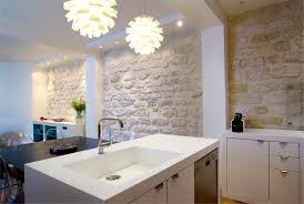 mur cuisine décoration mur de cuisine en