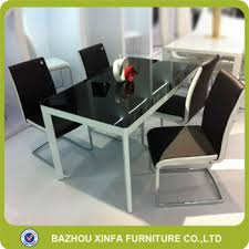 Glass Dining Table For 6 Tempered Glass Dining Table Inside Sets Ideas 7 Visionexchange Co