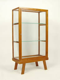 Curio Display Cabinets Uk Dining Room Awesome Brown Modern Wood Combined Glass Curio