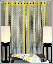 yellow and grey curtain panels curtains home design ideas