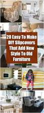 How To Make Slipcovers For Couches 20 Easy To Make Diy Slipcovers That Add New Style To Old Furniture