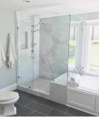 Marble Bathroom Showers One Of My Favorite Places To Be Our Master Bathroom Shower I Do