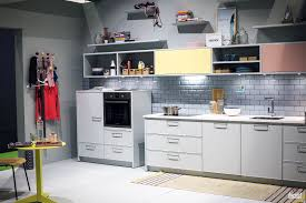 kitchen bluish gray nice whie make a naturally elegant