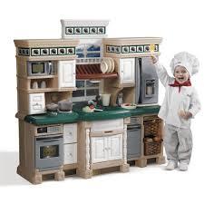 lifestyle deluxe kitchen kids play step2 little tikes set