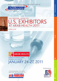 guide to u s exhibitors at arab health 2011 by kallman worldwide