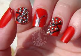 40 latest red and silver nail art design ideas 40 latest red and