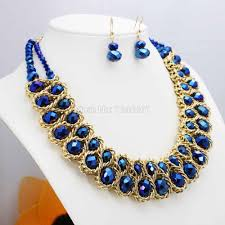 online get cheap navy blue necklace aliexpress com alibaba group