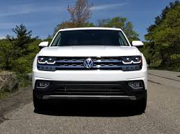 volkswagen atlas sel interior 2018 volkswagen atlas sel test drive review autonation drive