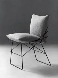 Best Metal Frame Chairs Images On Pinterest Lounge Chairs - Metal chair design