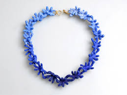 blue necklace images Aisegul telli jewelry undersurface jpg